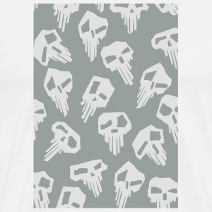 SkullZ Buttons - Men's Premium T-Shirt