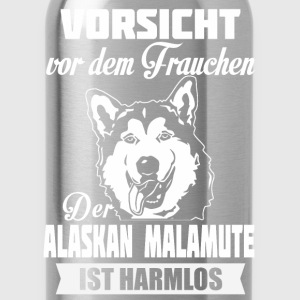 Alaskan malamute - Let op Tops - Drinkfles