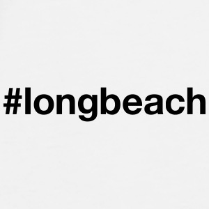 LONG BEACH - Herre premium T-shirt