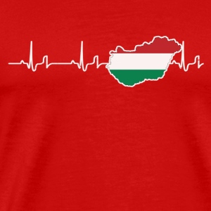 Heartbeat - Hungary Sports wear - Men's Premium T-Shirt
