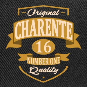 Charente Tee shirts - Casquette snapback