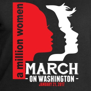 A Million Women March On Washington January 21, 2 T-Shirts - Men's Organic Sweatshirt by Stanley & Stella