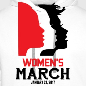 Women's March on Washington 2017 Official T-Shirts - Men's Premium Hoodie