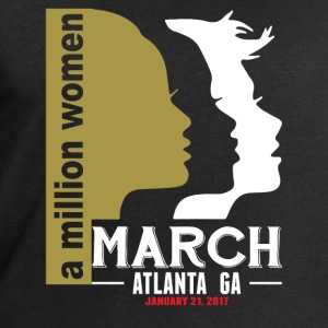 Women's March Atlanta T-Shirts - Men's Organic Sweatshirt by Stanley & Stella