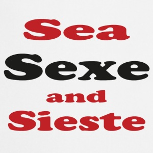 Sea sieste and sun Tee shirts - Tablier de cuisine