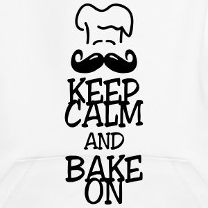keep calm and bake on Puserot - Lasten premium huppari