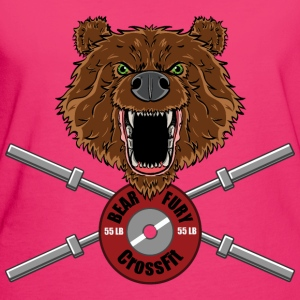 Bear Fury Crossfit Hoodies & Sweatshirts - Women's Organic T-shirt