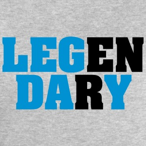 Legendary | Leg Day | Funny Gym Shirt T-skjorter - Sweatshirts for menn fra Stanley & Stella