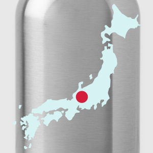 Navy Japan Pullover - Trinkflasche