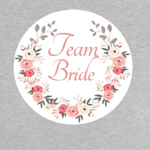 team_bride_rose_wreath T-shirts - Baby T-shirt