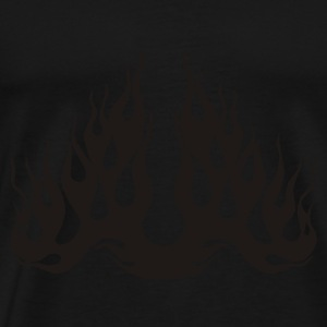 Flames sweater & hoodies - Men's Premium T-Shirt