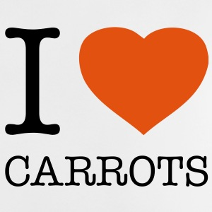 I LOVE CARROTS - Baby T-Shirt