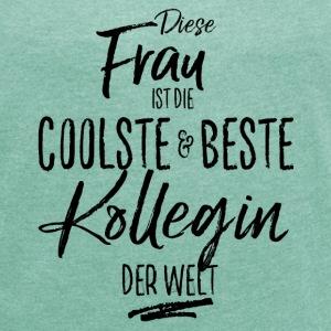 suchbegriff 39 beste kollegin 39 t shirts online bestellen spreadshirt. Black Bedroom Furniture Sets. Home Design Ideas