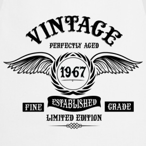 Vintage Perfectly Aged 1967 T-Shirts - Cooking Apron