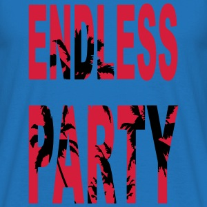 Endless Party Beach - Männer T-Shirt
