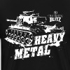 World of Tanks - Blitz, Heavy Metal - Men's Premium T-Shirt