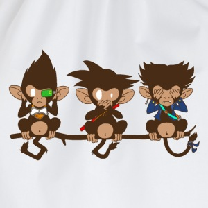 3 monkeys - Sac de sport léger