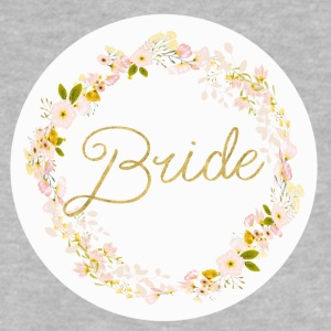 bride_big_wreath T-shirts - Baby T-shirt