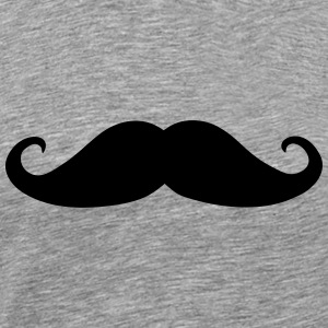 Mustache, beard (cheap!) Vêtements de sport - T-shirt Premium Homme