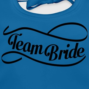 team_bride_swing T-shirts - Bio-slabbetje voor baby's