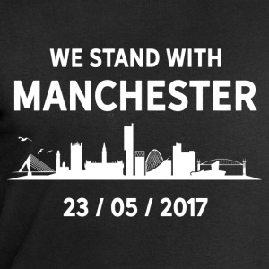 We Stand With Manchester T-Shirts - Men's Sweatshirt by Stanley & Stella