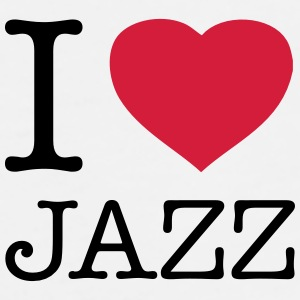 I LOVE JAZZ - T-shirt Premium Homme