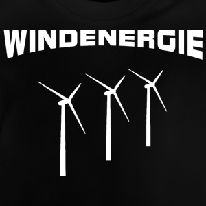 Wind energy Wind turbines Shirts - Baby T-Shirt