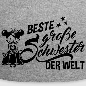 suchbegriff 39 gro e schwester 39 caps m tzen online bestellen spreadshirt. Black Bedroom Furniture Sets. Home Design Ideas