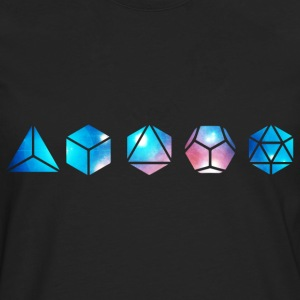 Platonic solids, building blocks of life, elements Hoodies & Sweatshirts - Men's Premium Longsleeve Shirt
