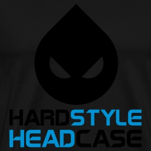 Sort Hardstyle Headcase Sweatshirts - Herre premium T-shirt