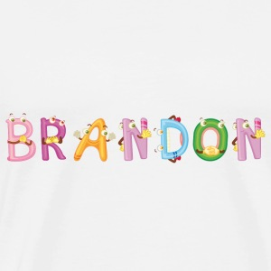 Brandon Baby Bibs - Men's Premium T-Shirt