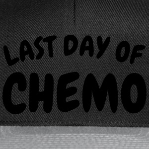 last day of chemo Camisetas - Gorra Snapback