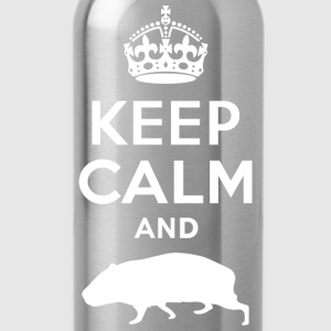 Keep Calm - Meerschweinchen Tops - Drinkfles