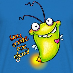 cloth bag glowworm - Männer T-Shirt