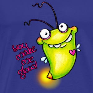 cloth bag glowworm - Männer Premium T-Shirt