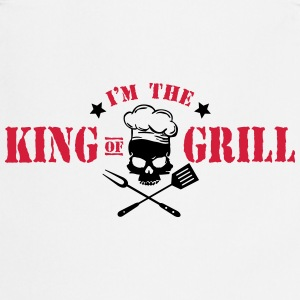 I'm the King of Grill T-shirts - Forklæde