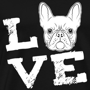 LOVE - French Bulldog - French Bulldog Sports wear - Men's Premium T-Shirt