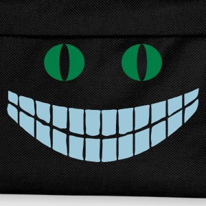 Noir Alice in Wonderland: Cheshire cat (2c) T-shirts - Sac à dos Enfant