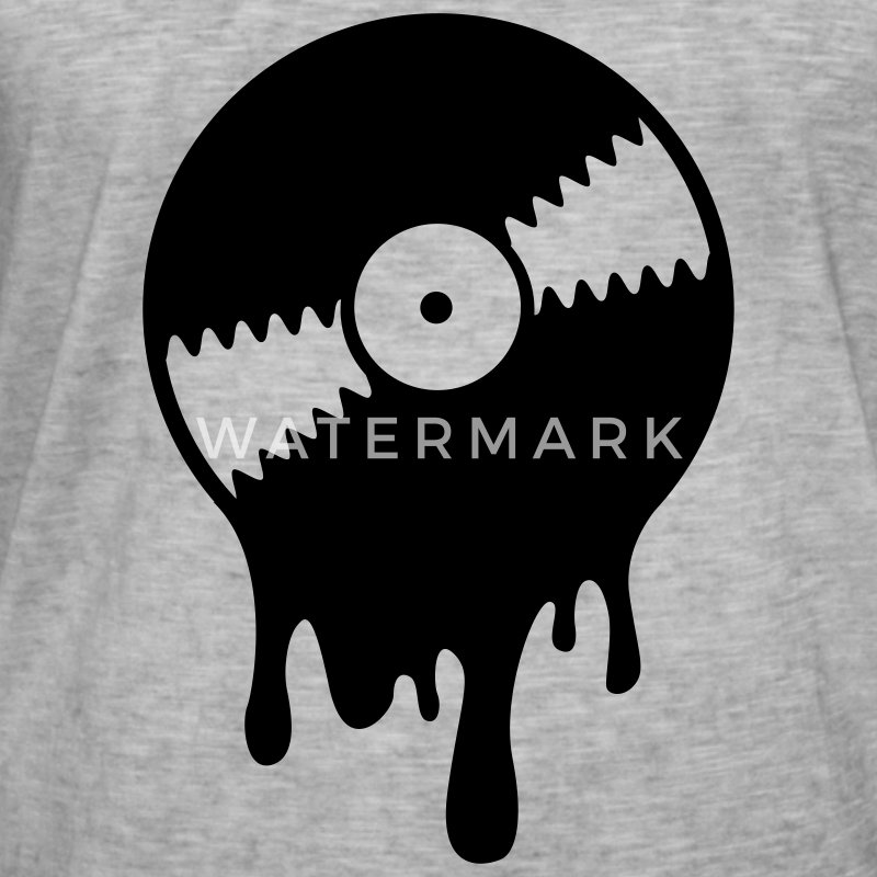 White Melting Vinyl Record (1c, NEU) Baby Bodysuits - Men's Vintage T-Shirt