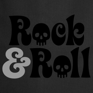 Schwarz Rock & Roll © T-Shirts - Tablier de cuisine