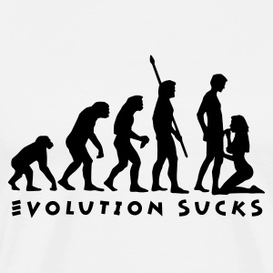 evolution_sucks_b_1c Tabliers - T-shirt Premium Homme