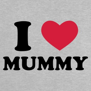 Rose I Love Mummy Accessoires - Baby T-Shirt