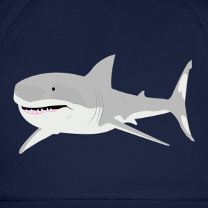 Navy shark Men's T-Shirts - Baseball Cap