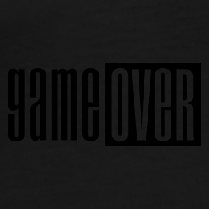 Noir Game over deluxe Sous-vêtements - T-shirt Premium Homme