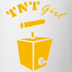 White TNT Girl Ladies' - Mug