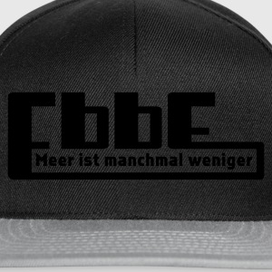 Braun Ebbe - Meer ist manchmal weniger T-Shirts - Snapback Cap
