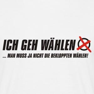 suchbegriff 39 w hlen gehen 39 t shirts online bestellen spreadshirt. Black Bedroom Furniture Sets. Home Design Ideas