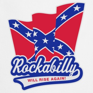 Rockabilly will rise again! Girlie-T-Shirt - Tablier de cuisine