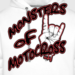 Monsters of Motocross Design T-Shirts - Männer Premium Hoodie