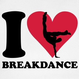 I love Breakdance Camisetas - Gorra béisbol